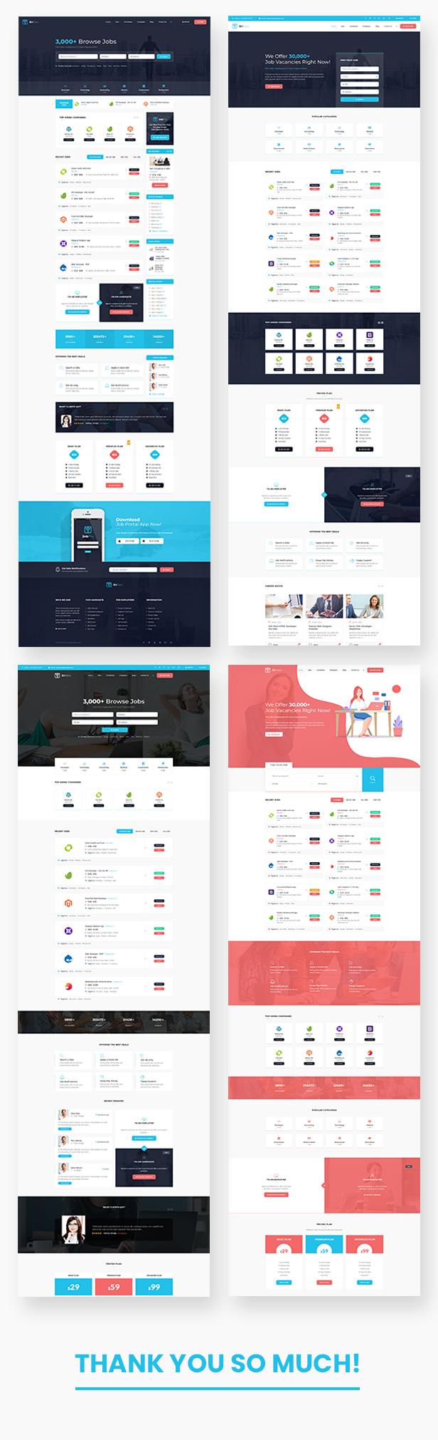 Entaro - Job Portal WordPress Theme - 1