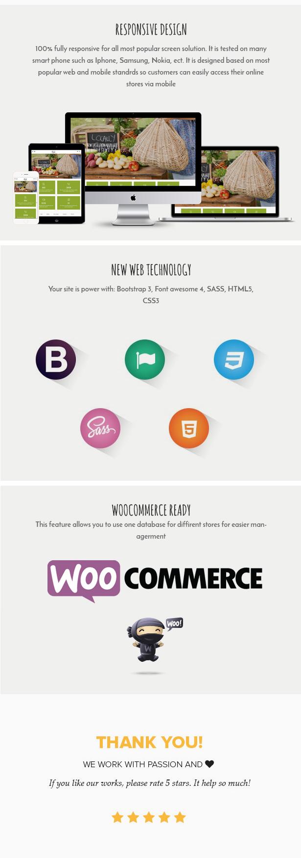 Vegan Food - Organic Store - Farm Responsive Woocommerce WordPress Theme - 3