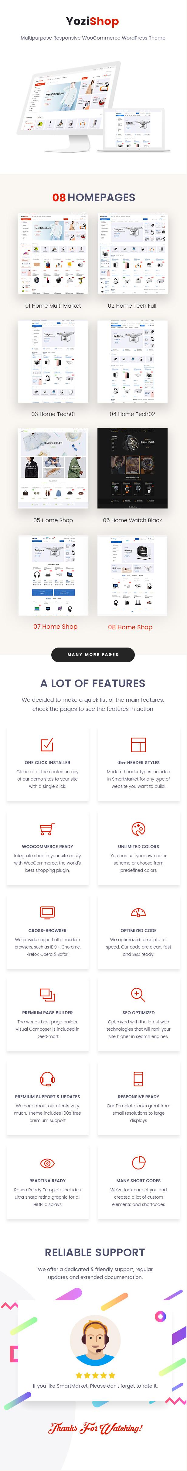 Yozi - Multipurpose Electronics WooCommerce WordPress Theme - 1