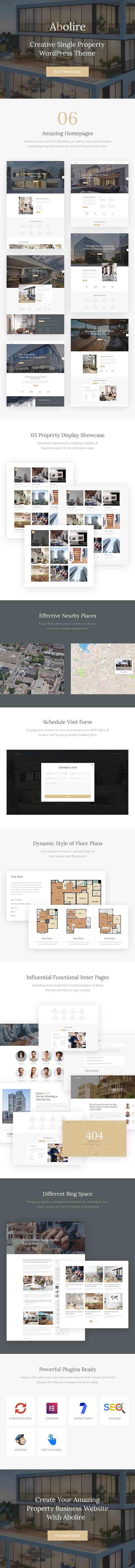Abolire - Single Property WordPress Theme - 4