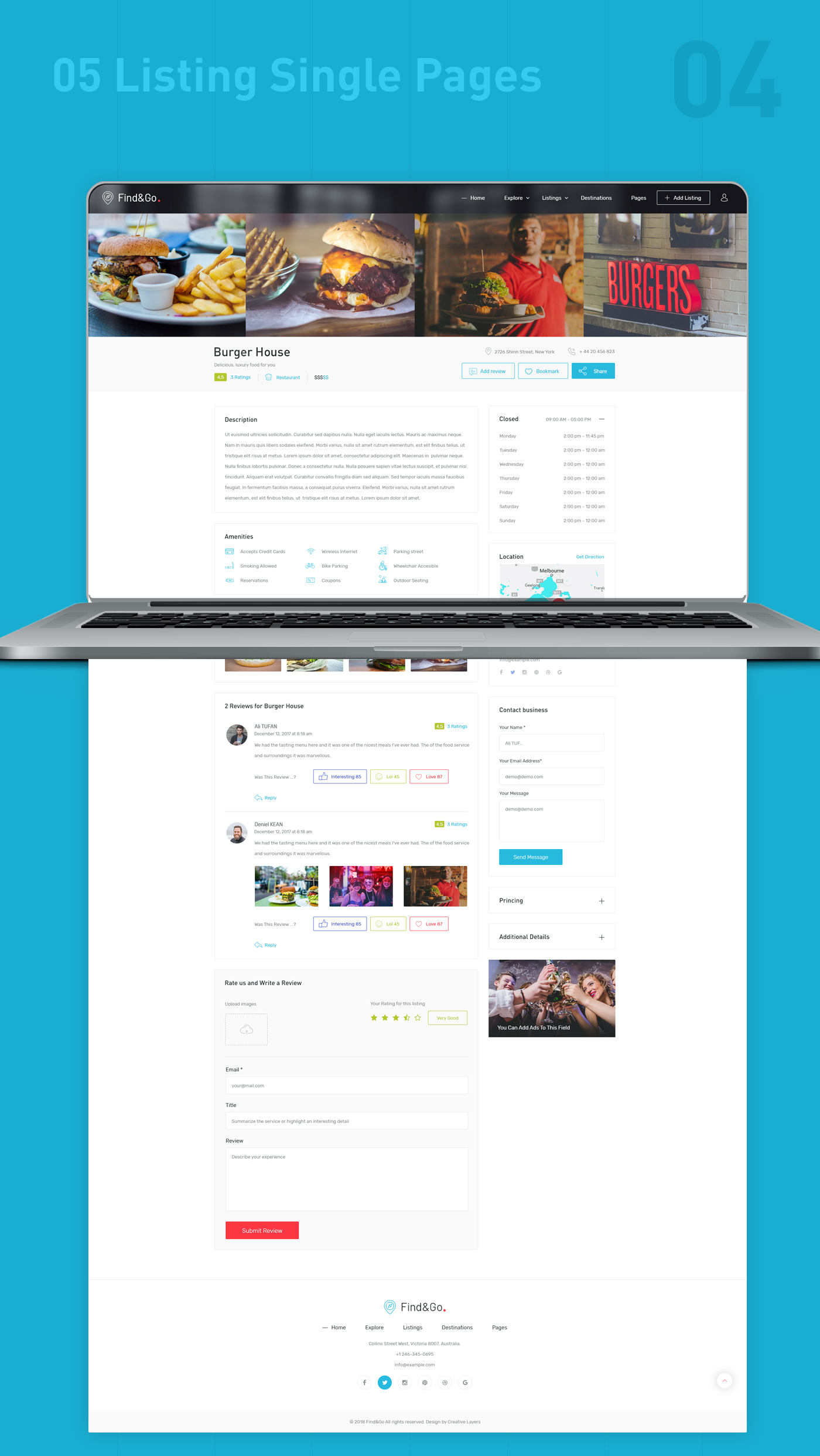 Findgo - Directory Listing WordPress Theme - 5