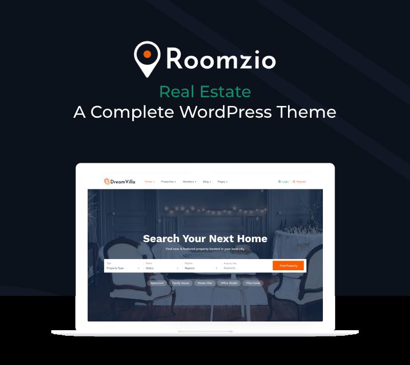 Roomzio - Real Estate WordPress Theme - 4