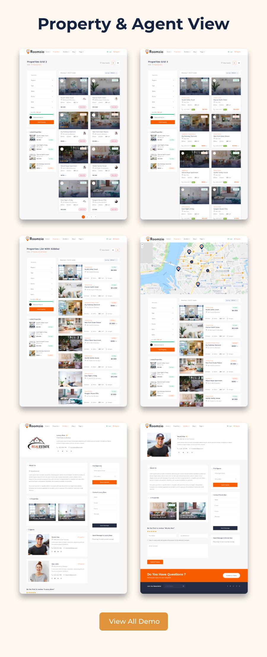 Roomzio - Real Estate WordPress Theme - 6