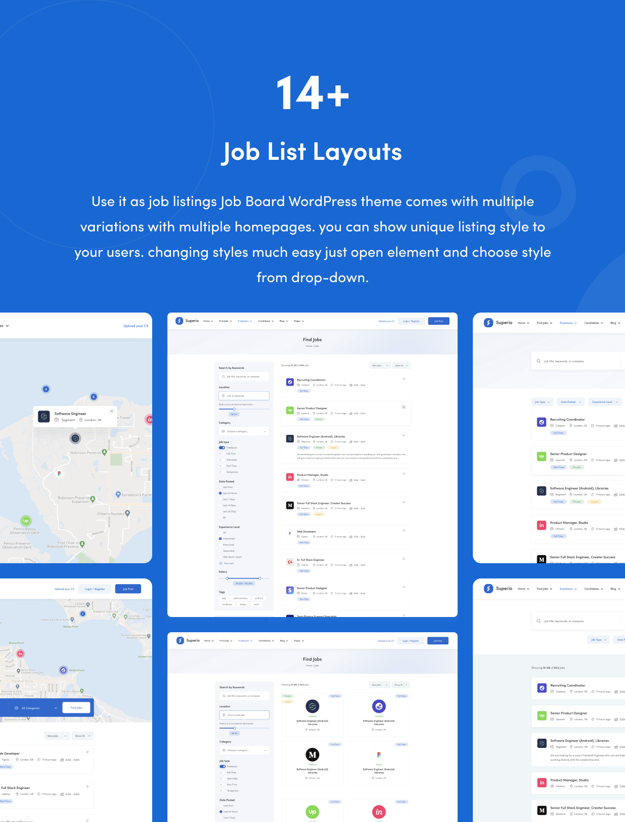 Superio – Job Board WordPress Theme - 8