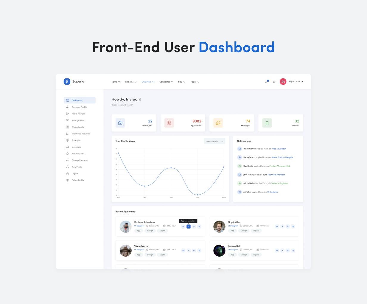 Superio – Job Board WordPress Theme - 10