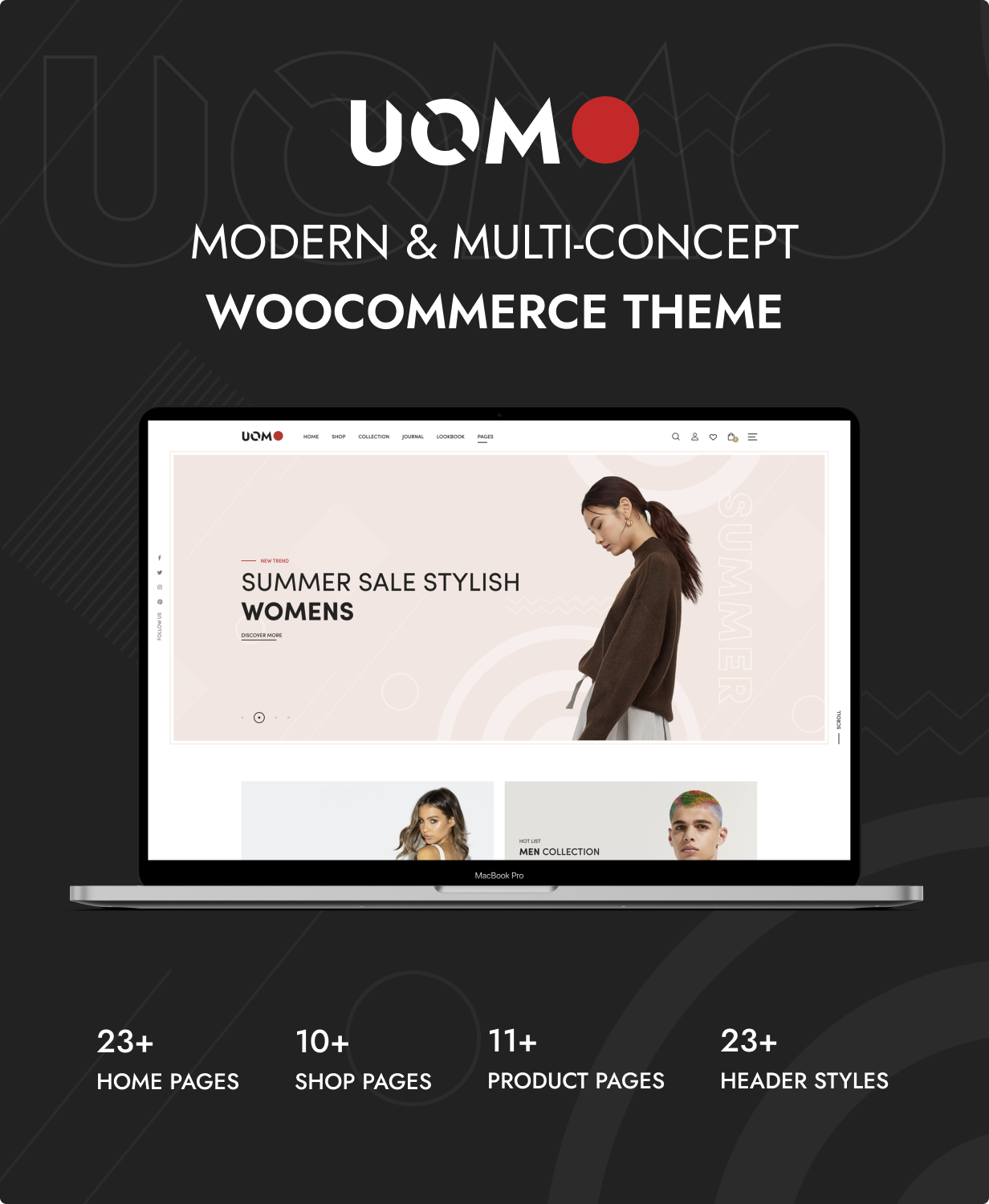 Uomo - Multipurpose WooCommerce WordPress Theme - 4