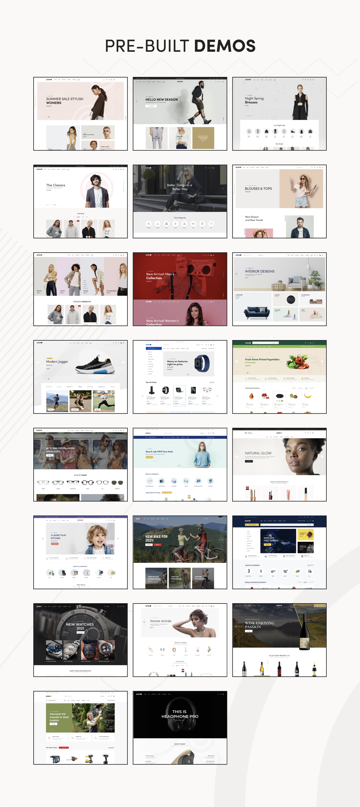 Uomo - Multipurpose WooCommerce WordPress Theme - 5