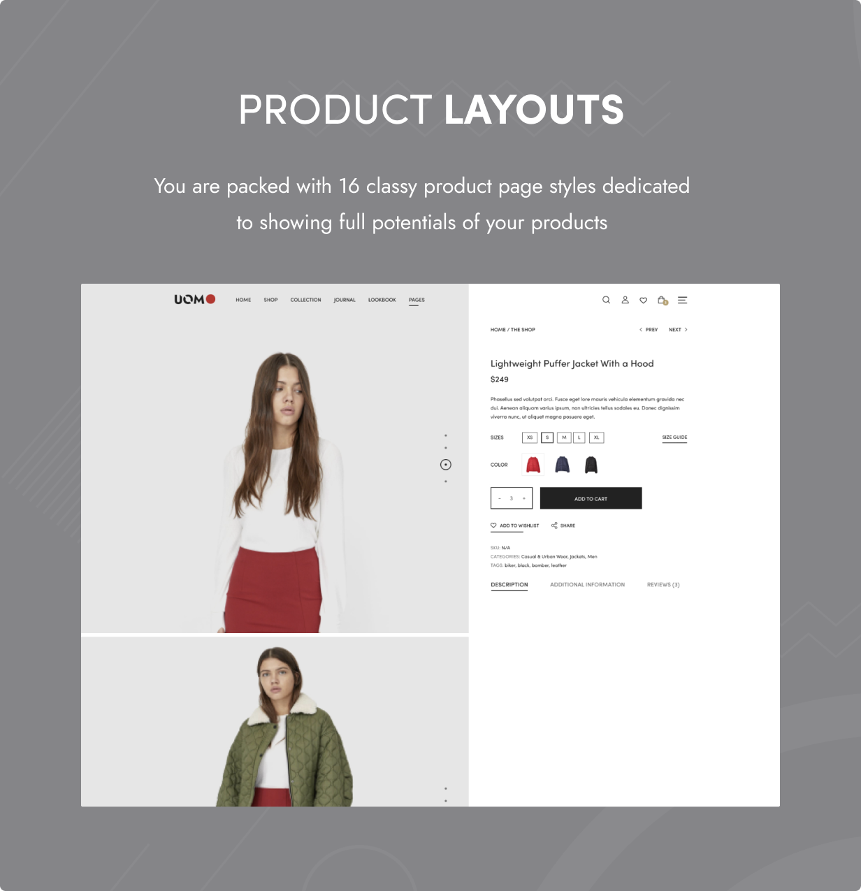 Uomo - Multipurpose WooCommerce WordPress Theme - 6